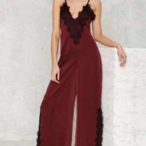 Nasty Gal Lace of the Ex jumpsuit